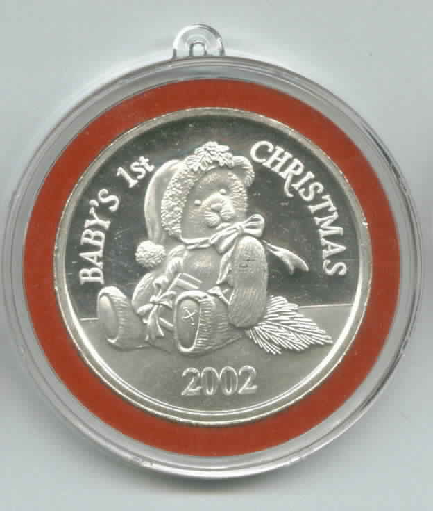 Christmas Silver 1 Ounce Coins Rounds Ornaments Bars